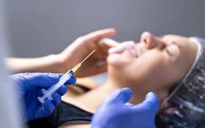 Cosmetic surgery fail concept