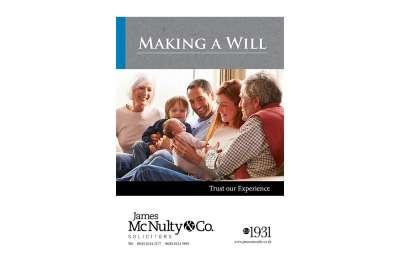 Wills booklet