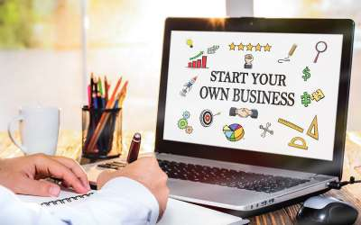 start your own business concept